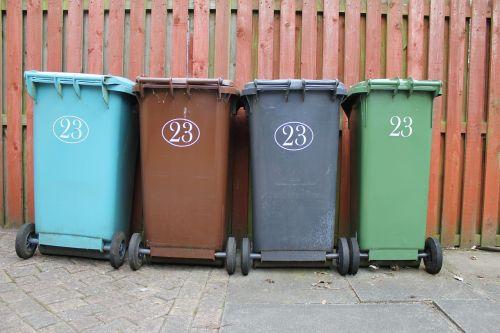 wheelie bin garbage rubbish