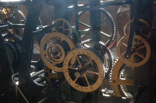 wheels machine gear train