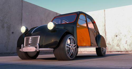 wheels citroën 2cv super sport