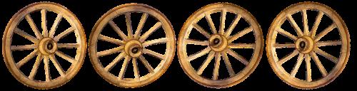 wheels wooden wheels old
