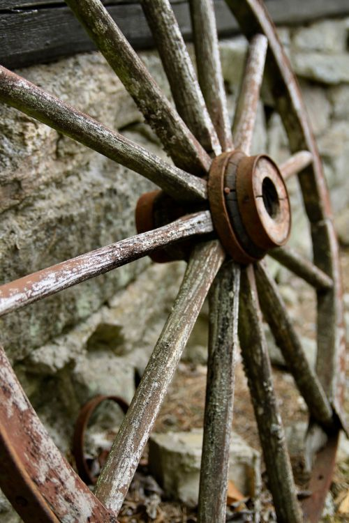 wheels rusty the nature of the