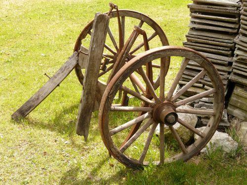 wheels towbar old