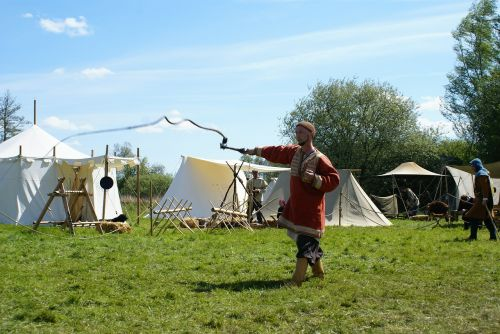 whip middle ages tents