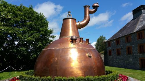 whiskey brewing copper