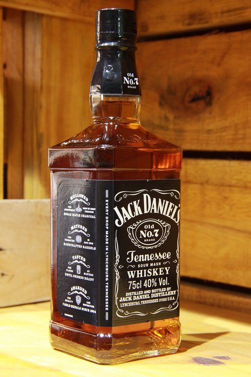 whiskey  jack daniel's  whiskey imported