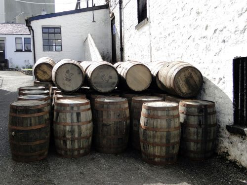 whiskey barrels wooden barrels whisky