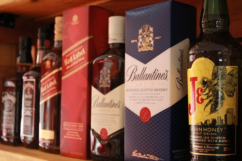 whiskies  imported  alcohol