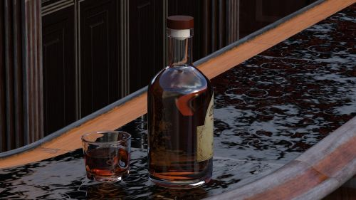 whisky glass alcohol
