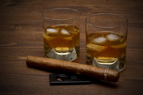 whisky  drink  glass