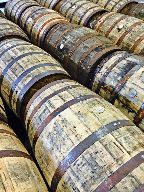 whisky  whiskey barrels  barrel