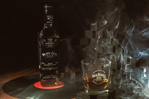 whisky  jack  bottle