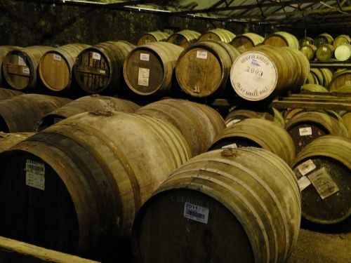 whisky barrels islay