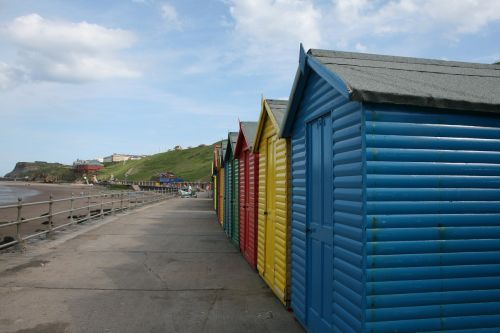 whitby beach beach huts