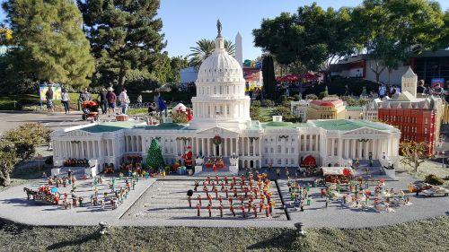 white house lego