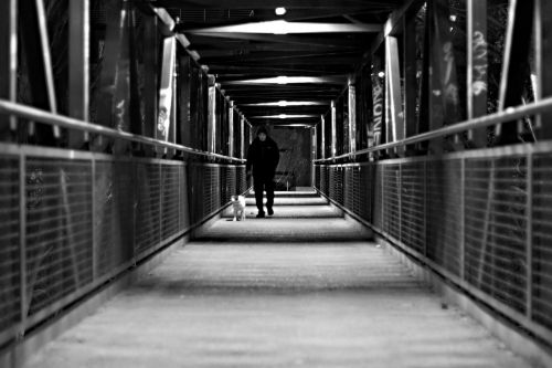 white black passage