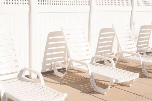 white chair shadow