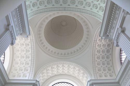 white ceiling interior