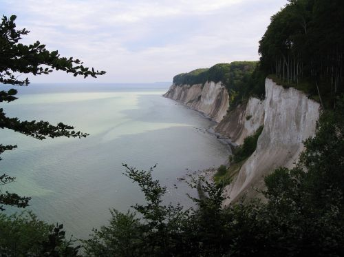 white cliffs rügen national park