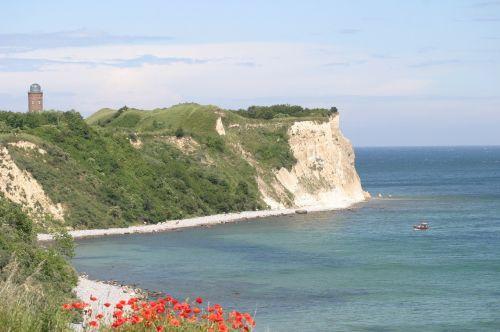 white cliffs rügen baltic sea