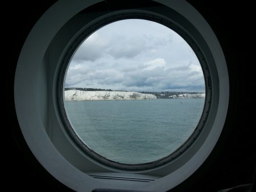 white cliffs dover coastline