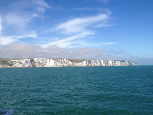 white cliffs england coast
