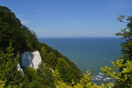 white cliffs rügen rügen island