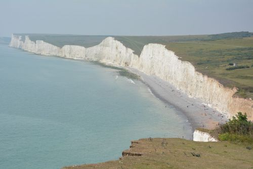 white cliffs sea cliffs