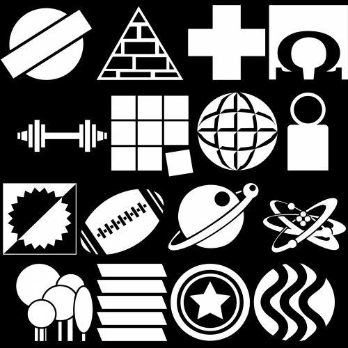 White Icons