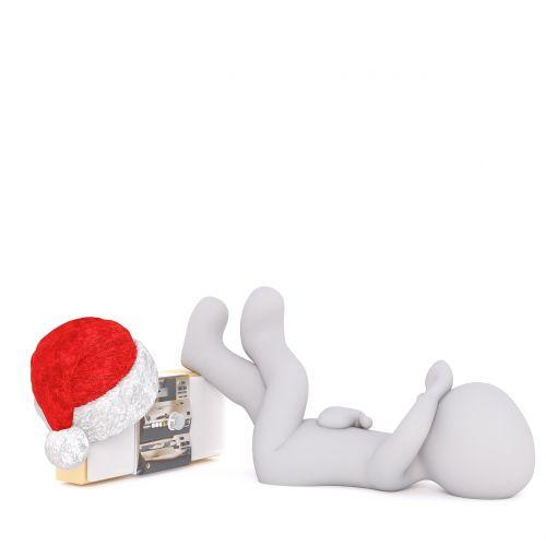 white male 3d model figure