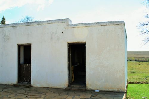 White Outbuildings