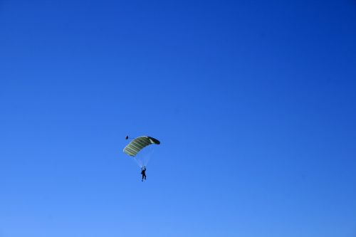 White Parachute Canope