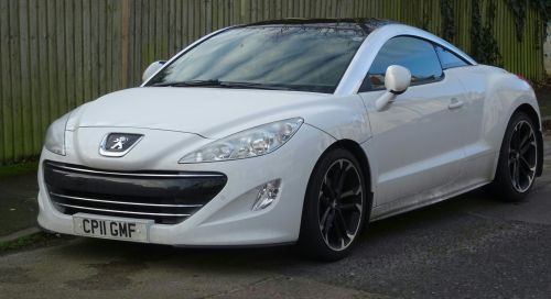 White Peugeot RCZ Car
