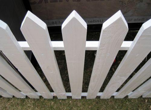 White Picket Fence 1