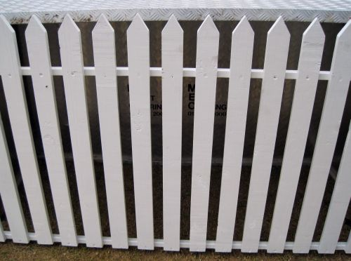 White Picket Fence 2