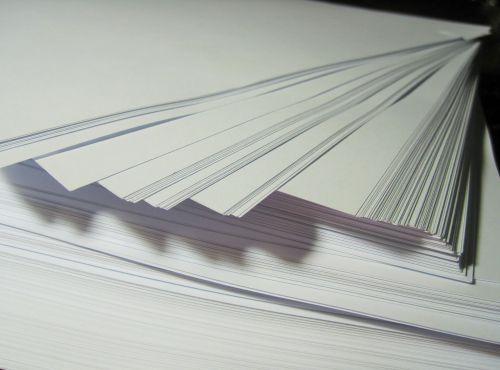 White Ream Of Paper