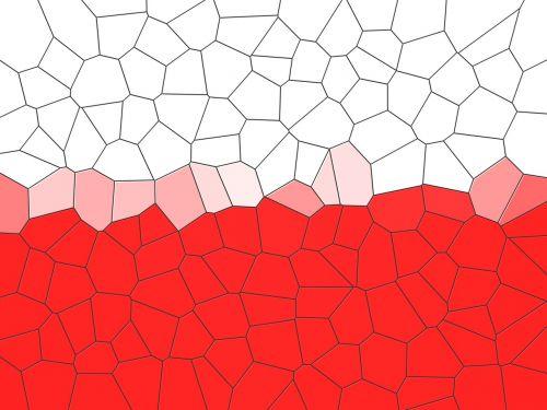 balta-raudona,Lenkija,lenkų vėliava,Lenkijos vėliava,raudona,vėliava,mozaika