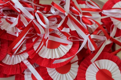 white-red 11 nov bows