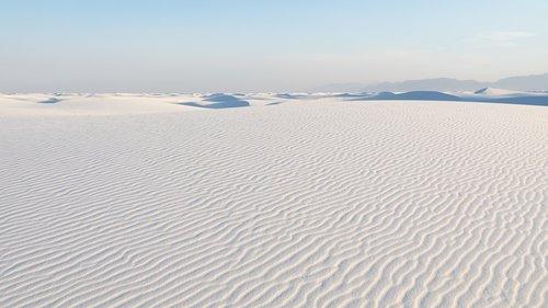 white sands  nm  evening light 2