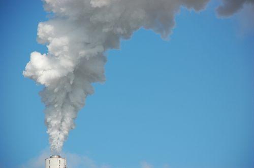 white smoke smoke chimney