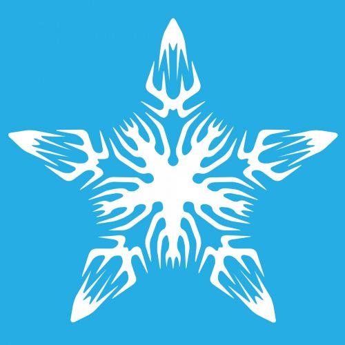 White Snowflake 10