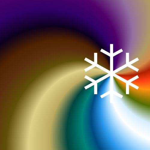 White Snowflake 16