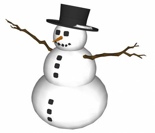 White Snowman