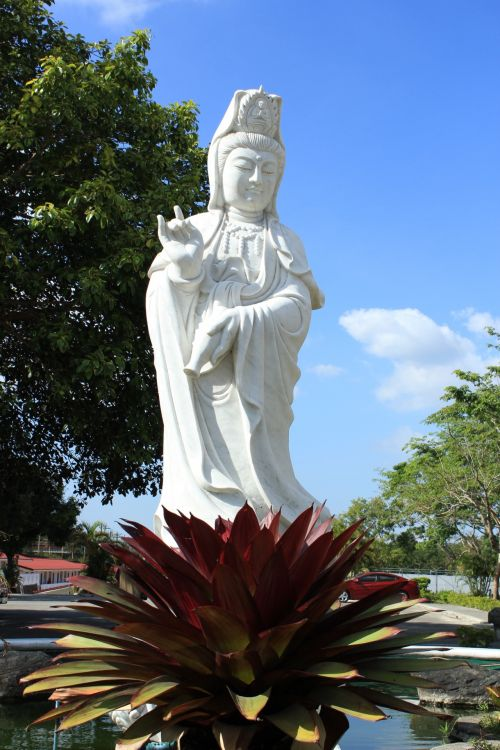 White Statue