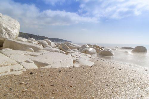 White Stones And Sea