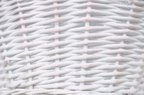 White Wicker Background Texture