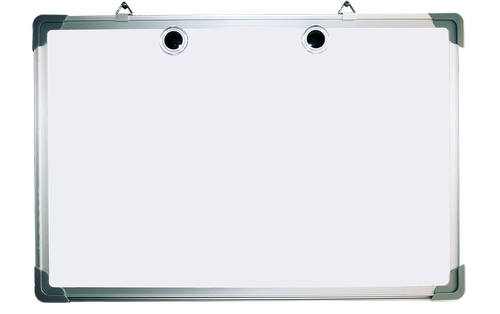 whiteboard  blank  notice