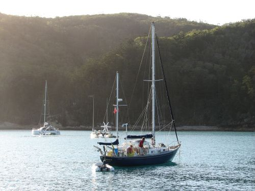 whitsunday islands queensland sailing