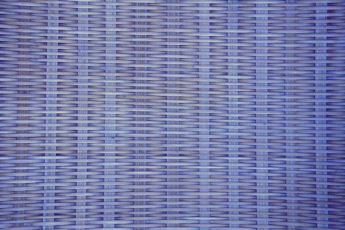 Wicker Weave Background Blue