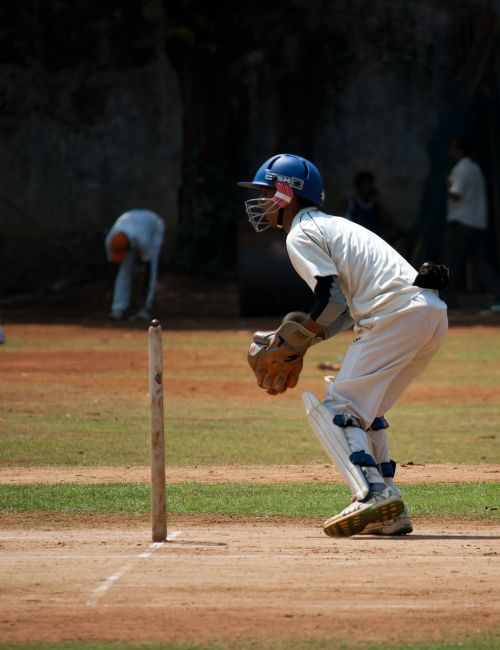 wicket keeper sports cricket