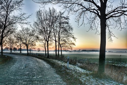 wide winter east frisia